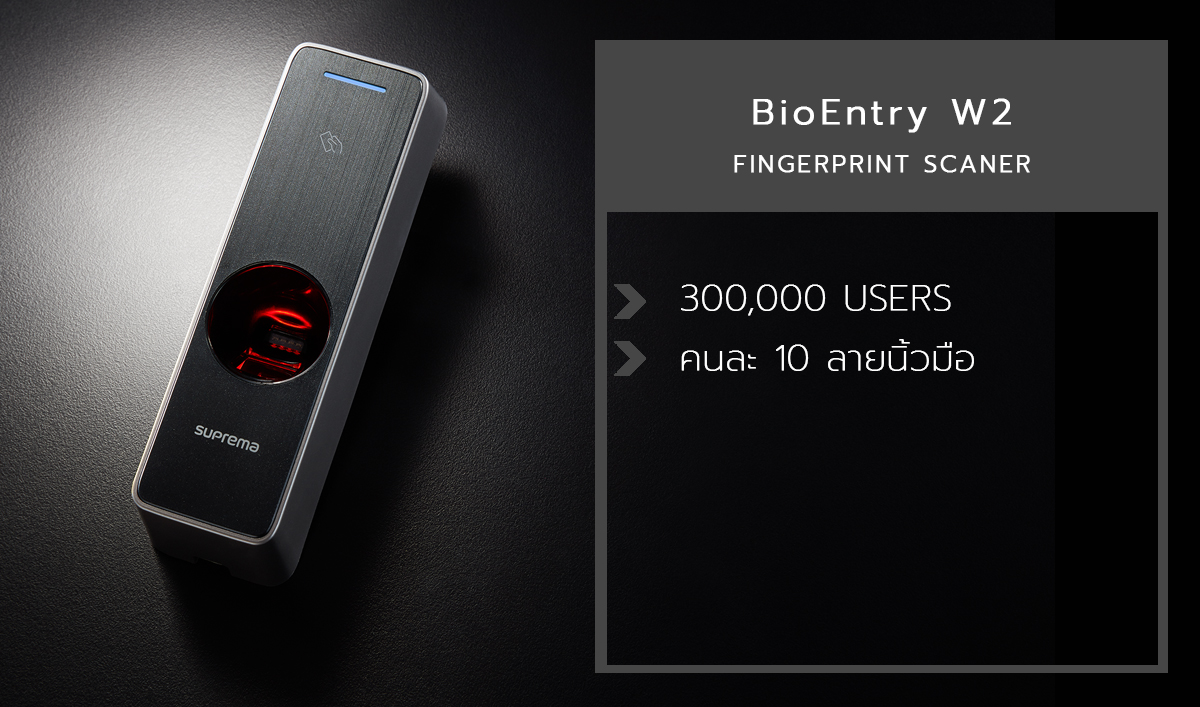 BioEntry W2 Fingerprint scaner