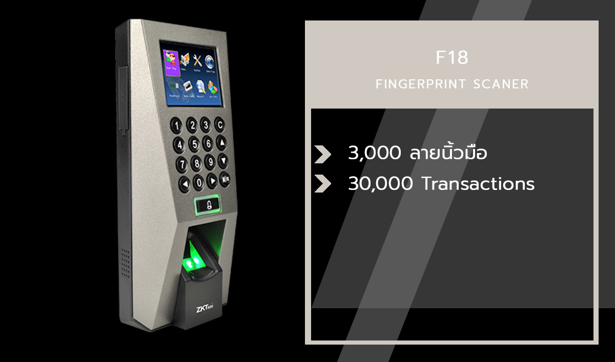 F18 Fingerprint Scanner